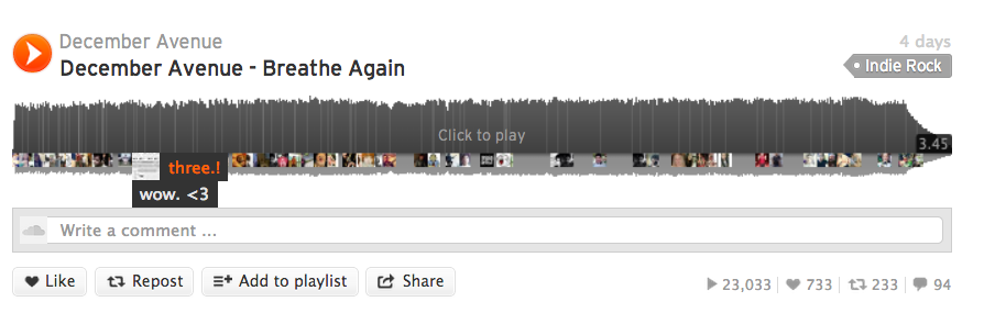 Screengrab SoundCloud, CC BY SA